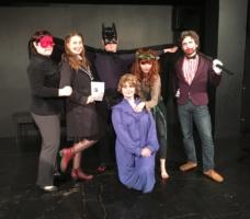 Batman - společná fotka po představení