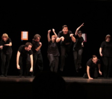 Zápas v improvizaci - veřejná rozcvička