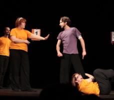 Zápas v improvizaci - jedna z improvizací